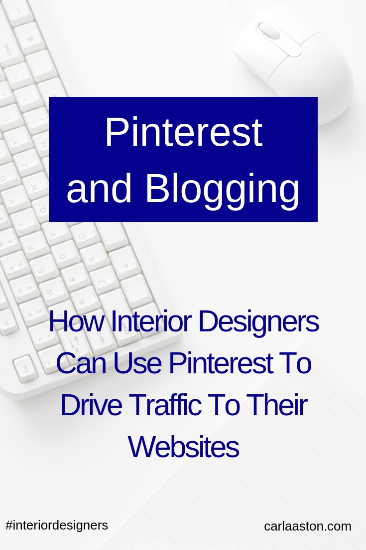 My recent presentation for the Design Hounds, on how interior designers can use Pinterest and blogging to drive traffic to their websites.