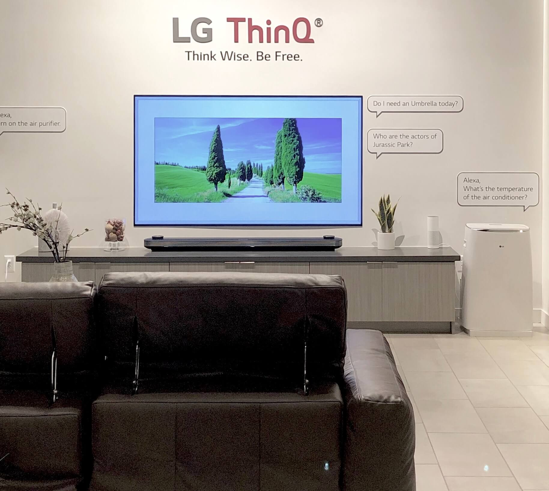 LG OLED tv | SKS Appliances Experience and Design Center, Napa