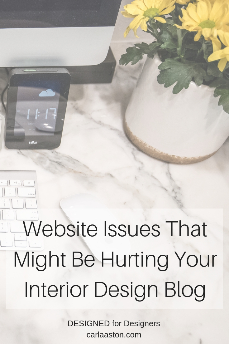 Click here to learn what website issue was a problem for my site on PInterest.