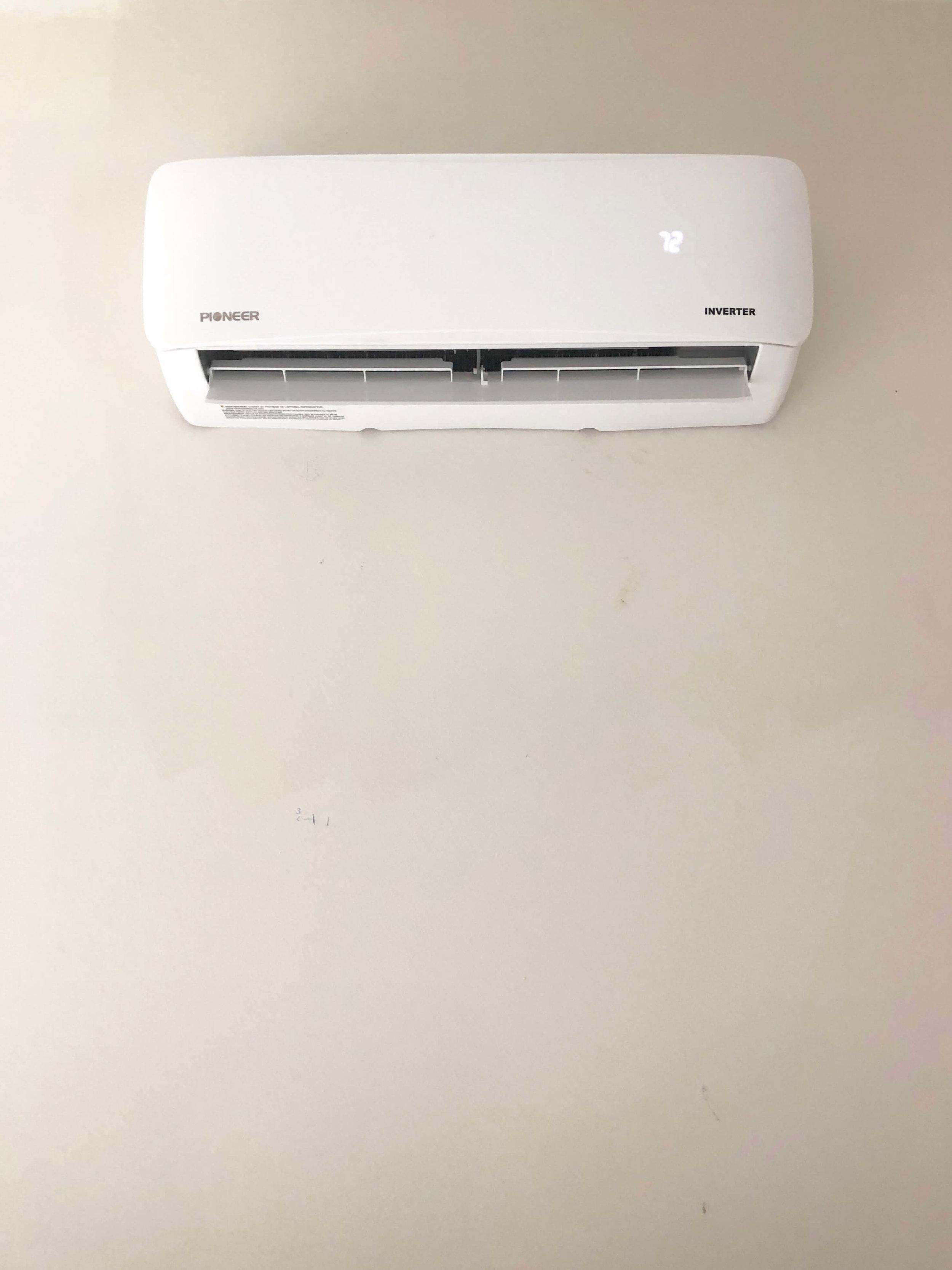 mini split A/C unit for home office
