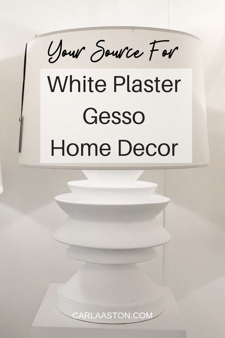 Your Source For White Plaster - Gesso Home Decor