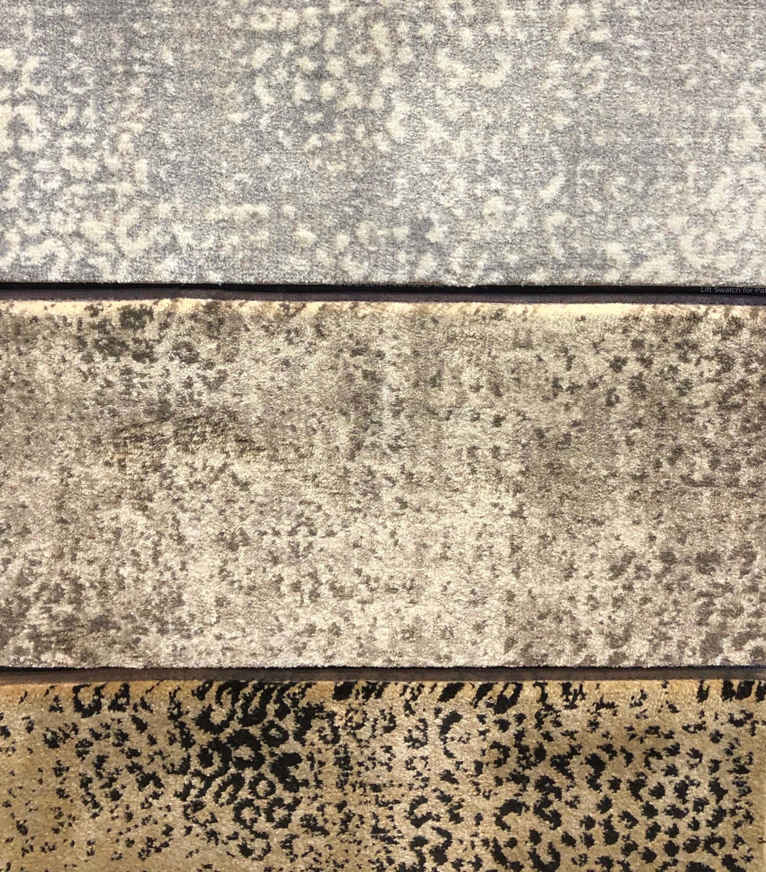 Wouldn't this animal print carpet look great in a closet? #rugideas #animalprintcarpet