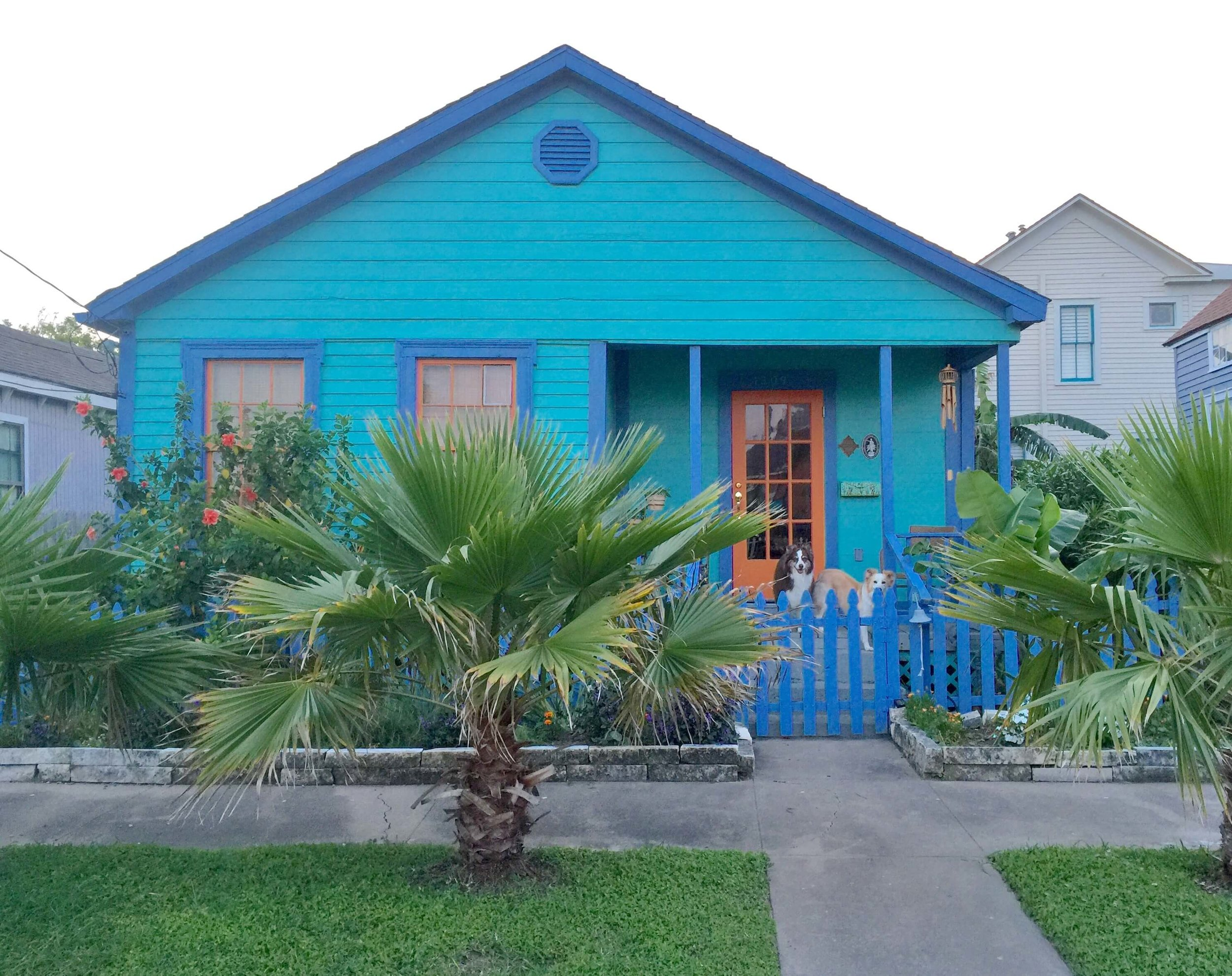 Exterior - Historic Galveston beach cottage |Susan Fox, Designer/Homeowner #galveston #beachcottage