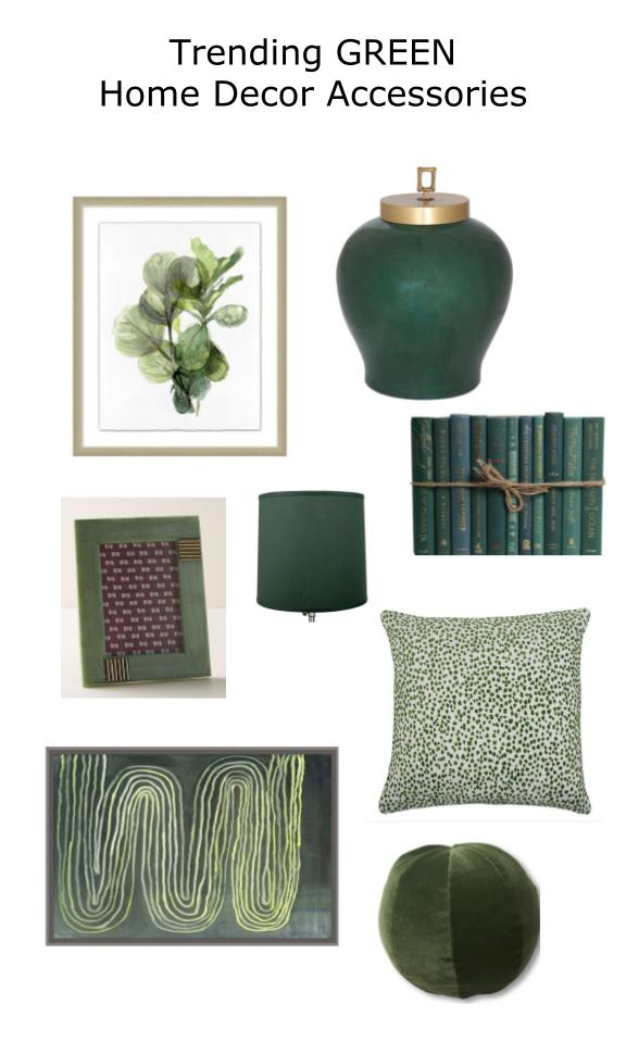 Click through for 15 on-trend green home decor accessories
