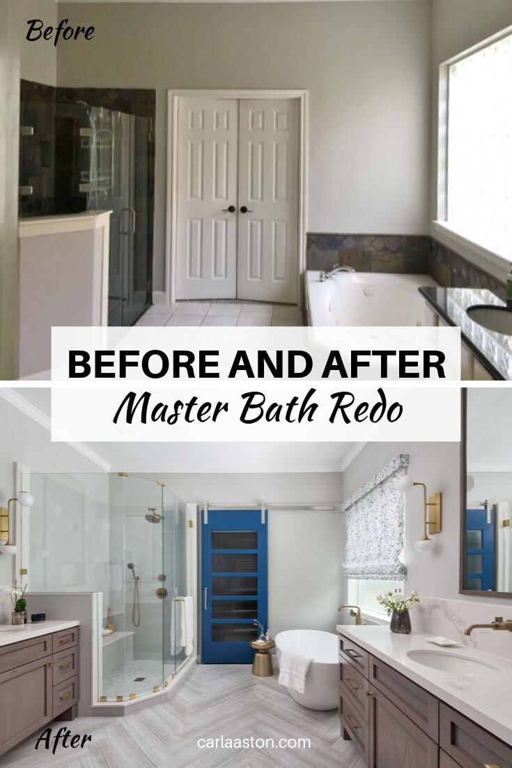 Before And After A Master Bath And Bedroom Remodel That