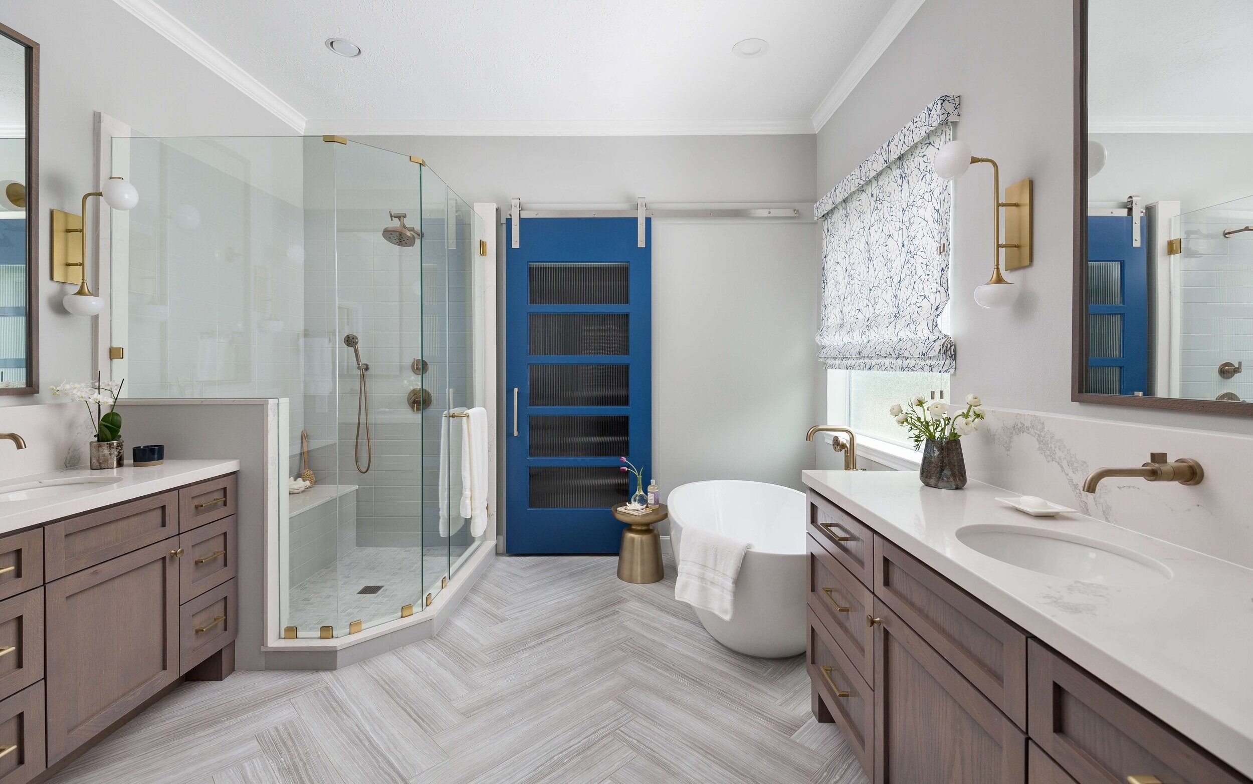 Before And After A Master Bath Bedroom Remodel That Feels Designed
