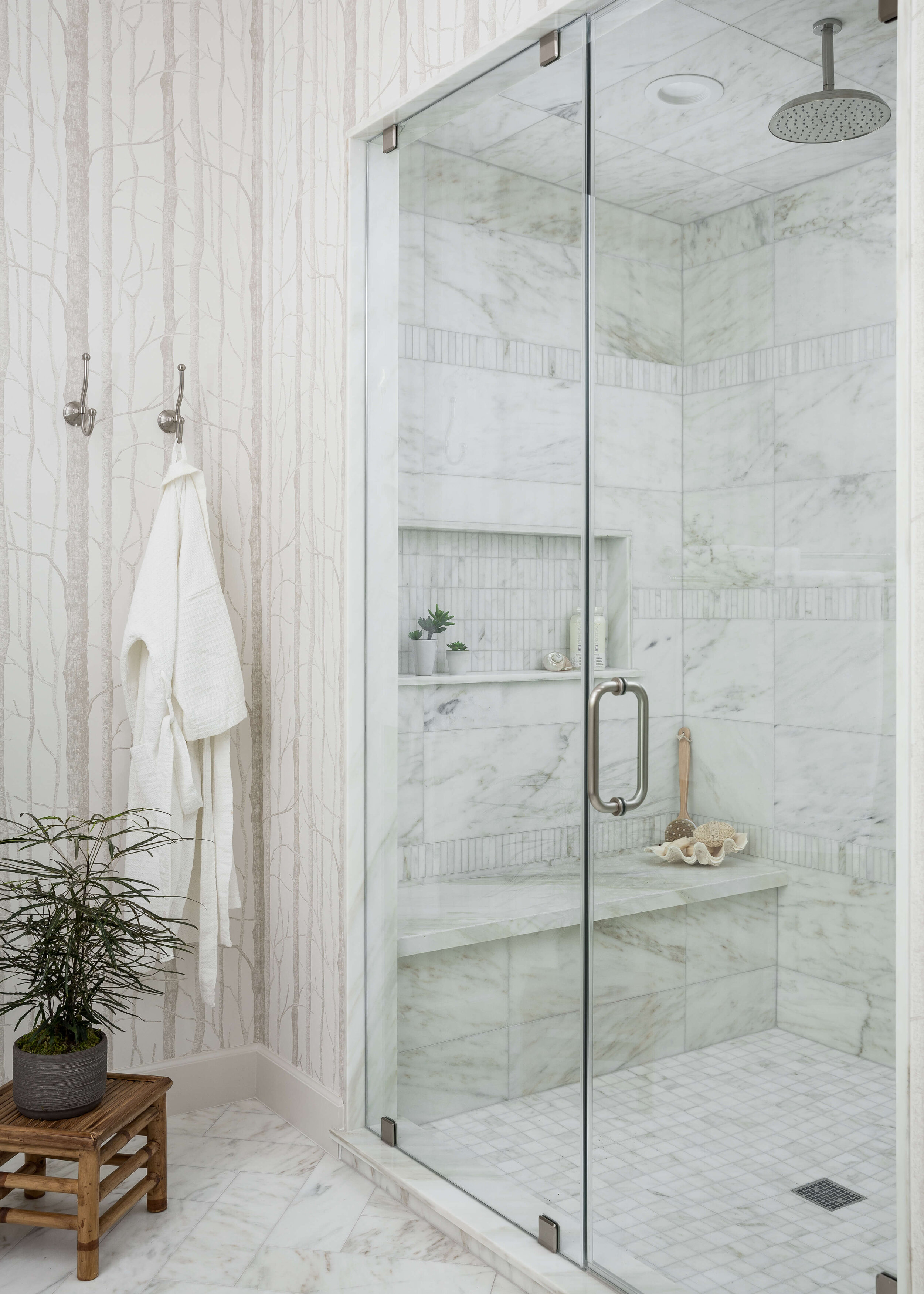 25 Beautiful Shower Niche Ideas For Your Master Bathroom Designed