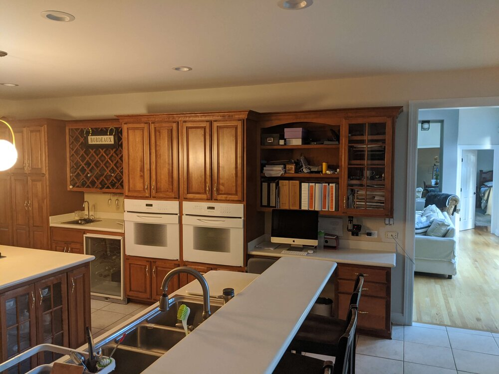 Wood Cabinets Without Painting Them, How To Freshen Up Kitchen Cabinets Without Painting