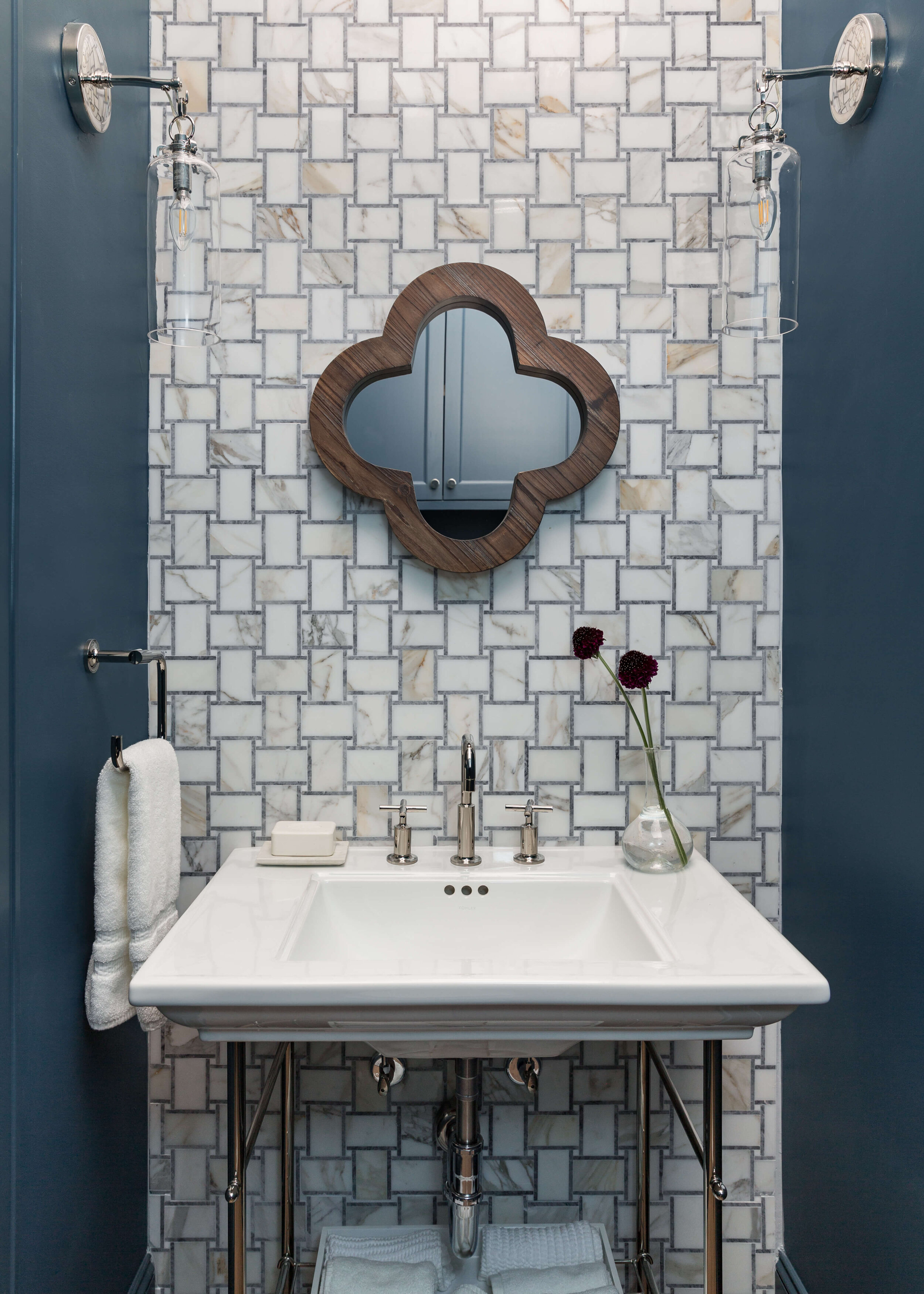 3 Bathrooms With Fun Tile And Fabulous Details Designed
