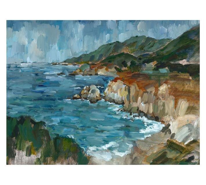 Hawaiian landscape painting