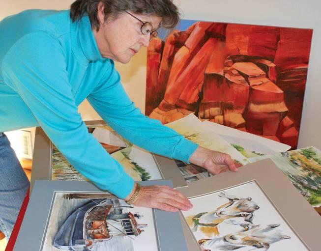 Artist Judy Barton 1999