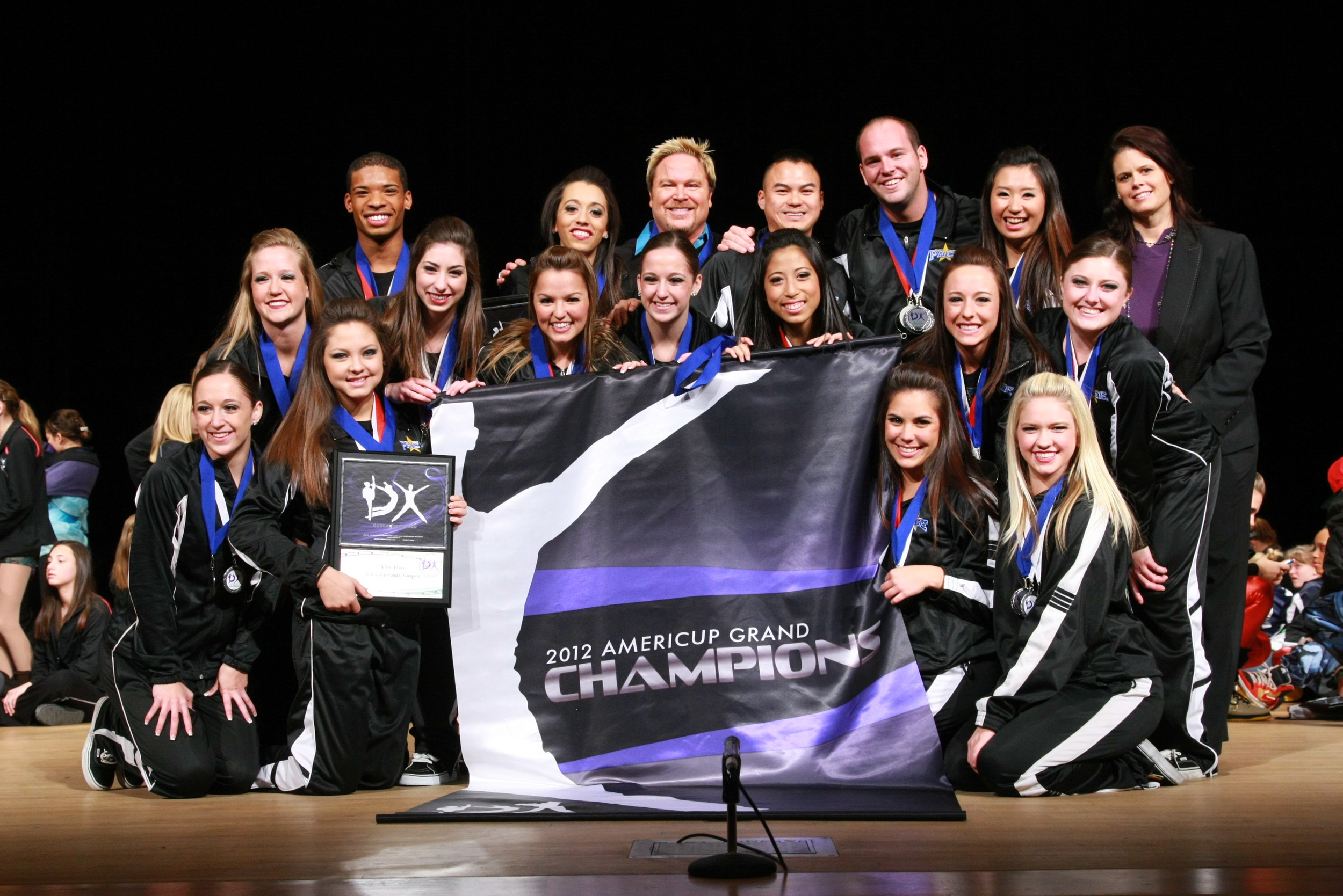 2012 AmeriCup International Open Grand Champions  PACE Elite, California