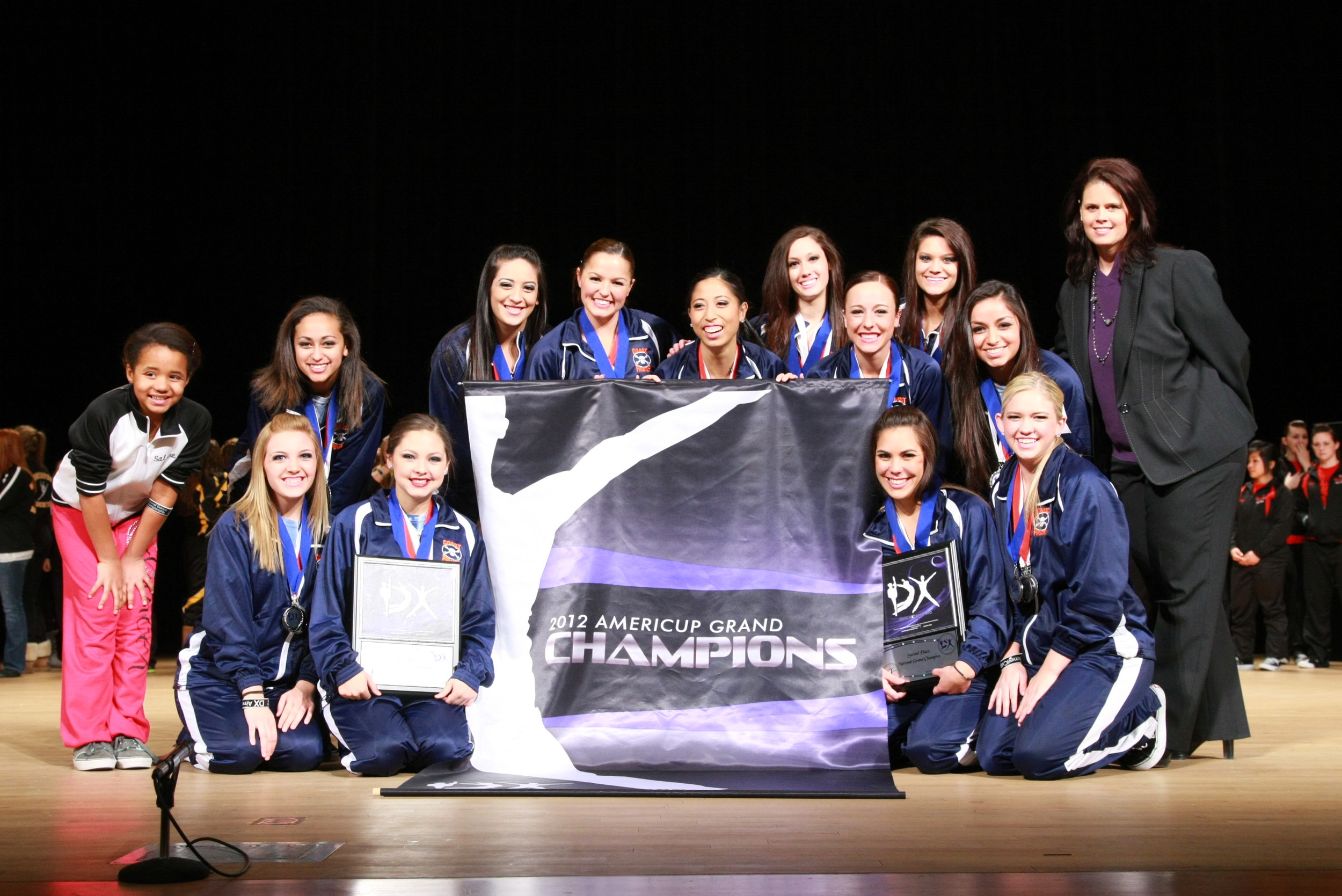 2012 AmeriCup Senior Grand Champions  PACE Elite, California
