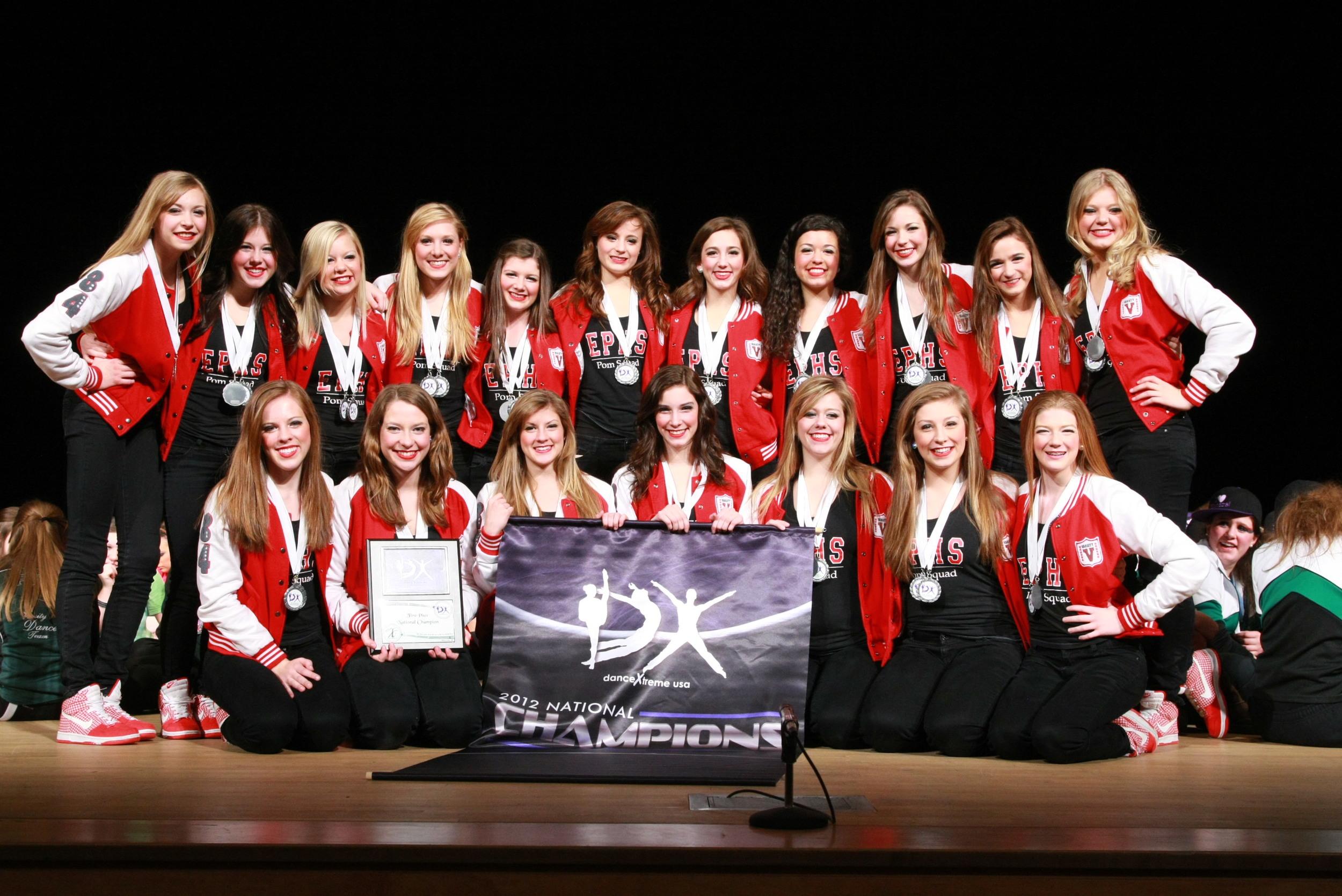 2012 AmeriCup High School Grand Champions  Eden Prairie Pom Squad, Minnesota