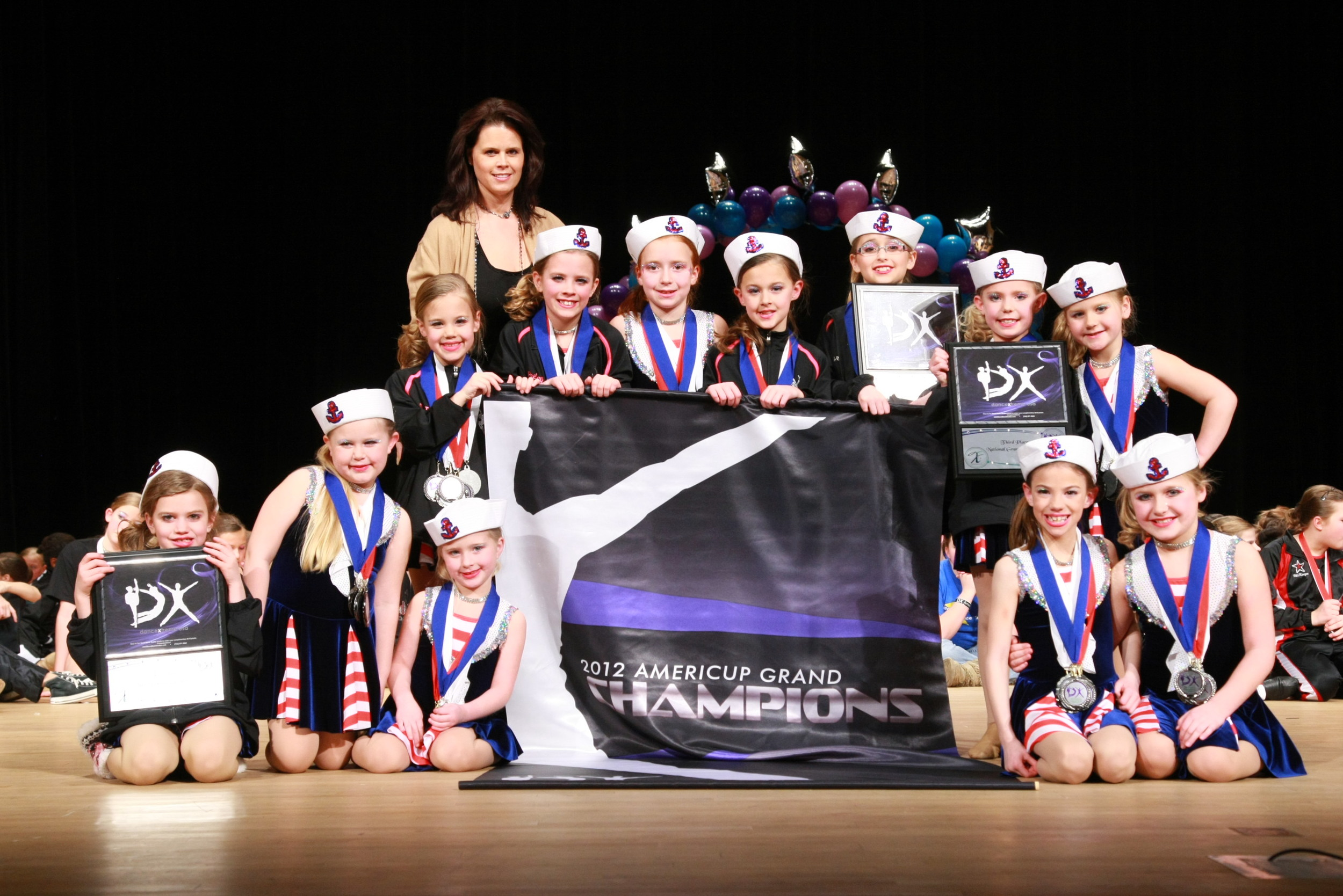 2012 AmeriCup Elementary Grand Champions  Dance Expressions, South Dakota