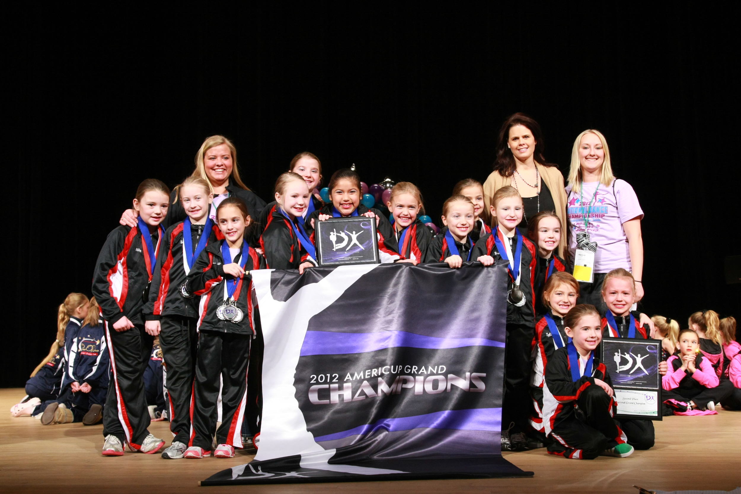 2012 AmeriCup Mini Grand Champions  Energizers Junior Prep, Wisconsin