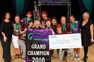2010 AmeriCup International Open Grand Champions  Champion Legacy Int'l Open, South Dakota