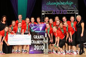 2010 AmeriCup Junior Grand Champions  Champion Legacy Juniors, South Dakota