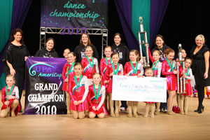 2012 AmeriCup Mini Grand Champions  Foursis Dance, Wisconsin