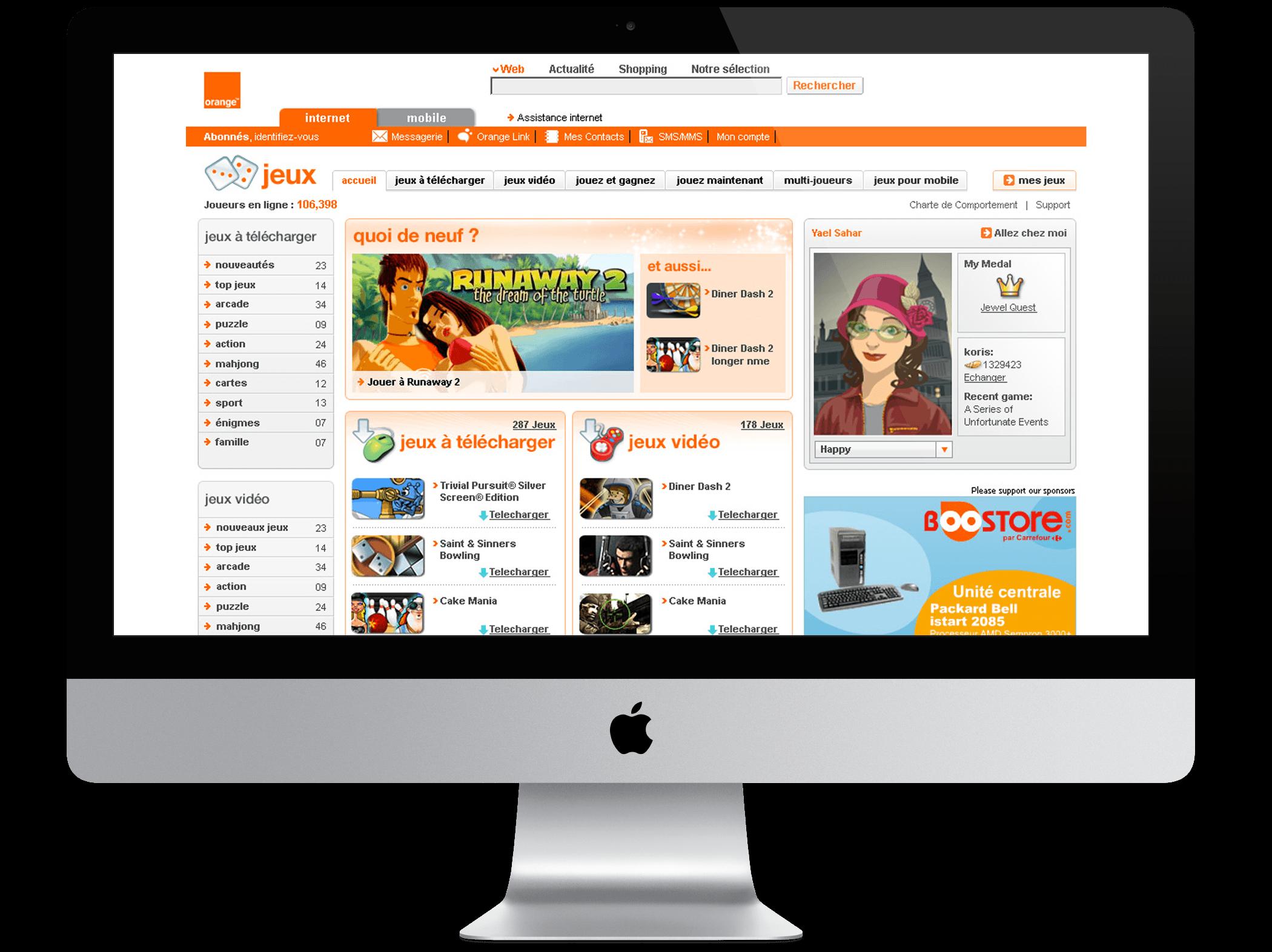Orange France Games