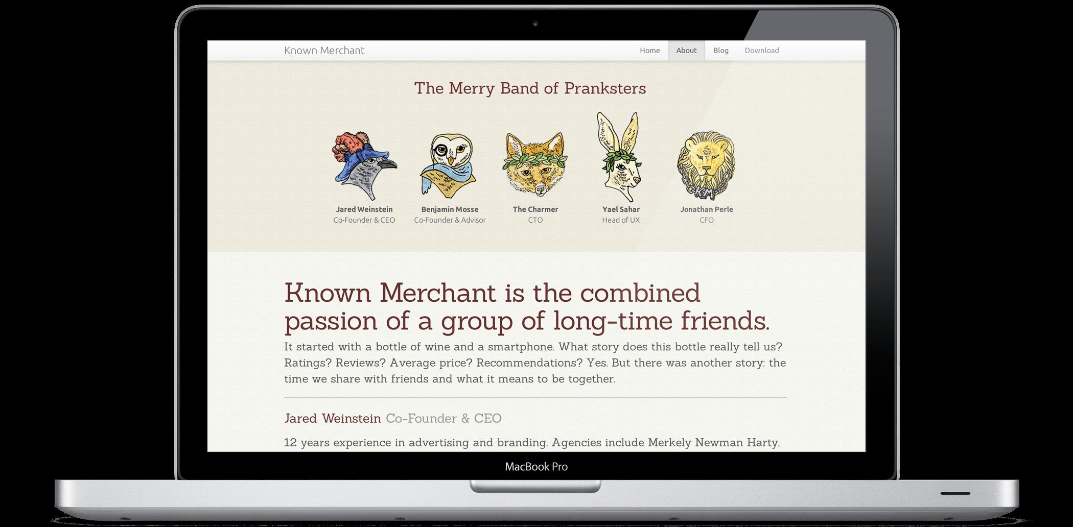 Known Merchant Website