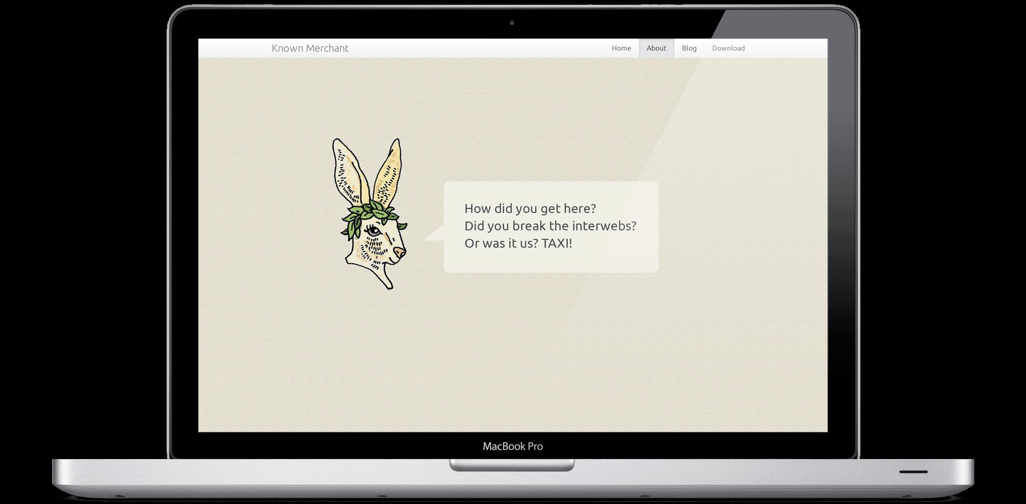 404 Error Message on Website