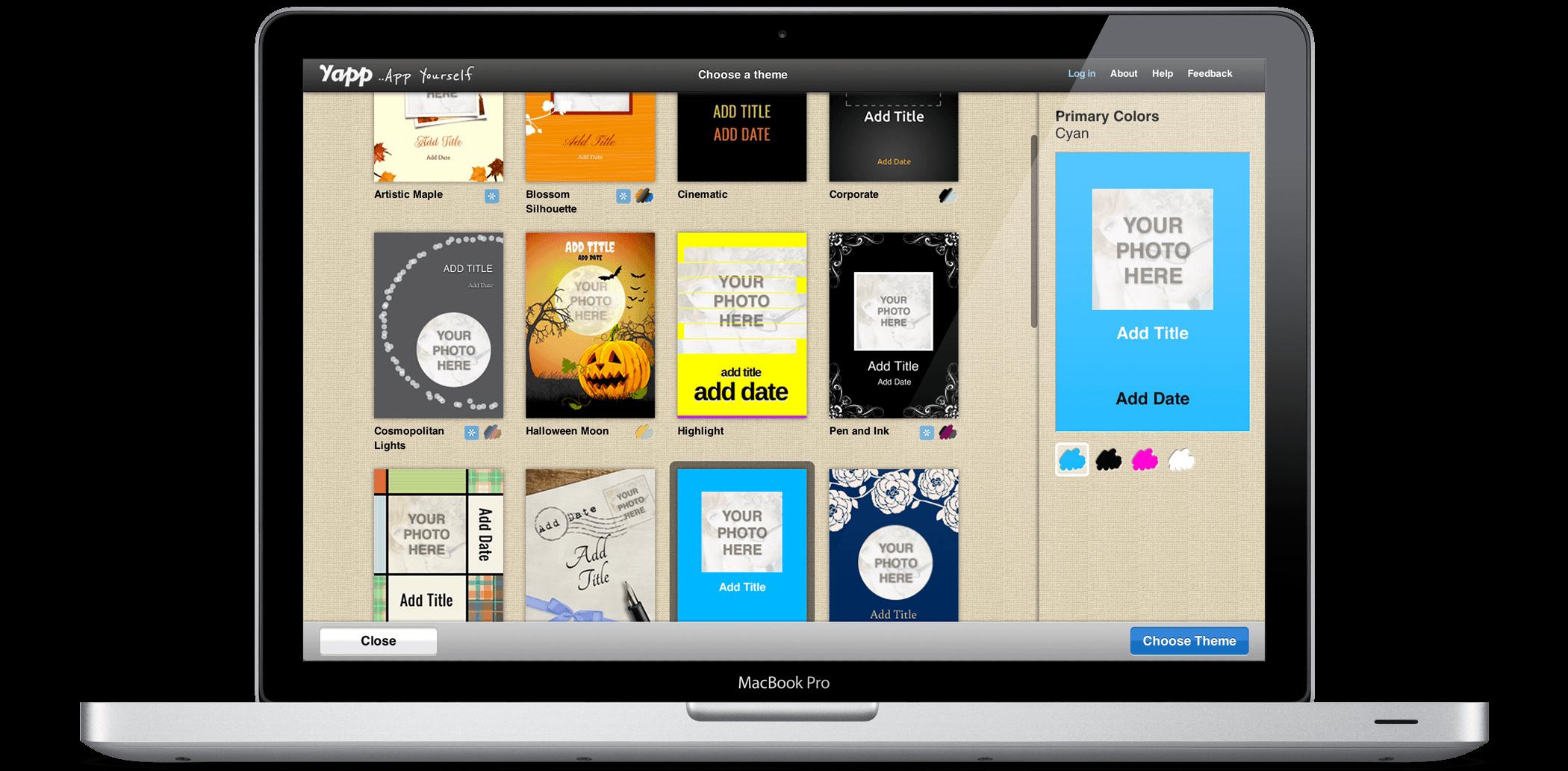 App Editor \ Theme Chooser