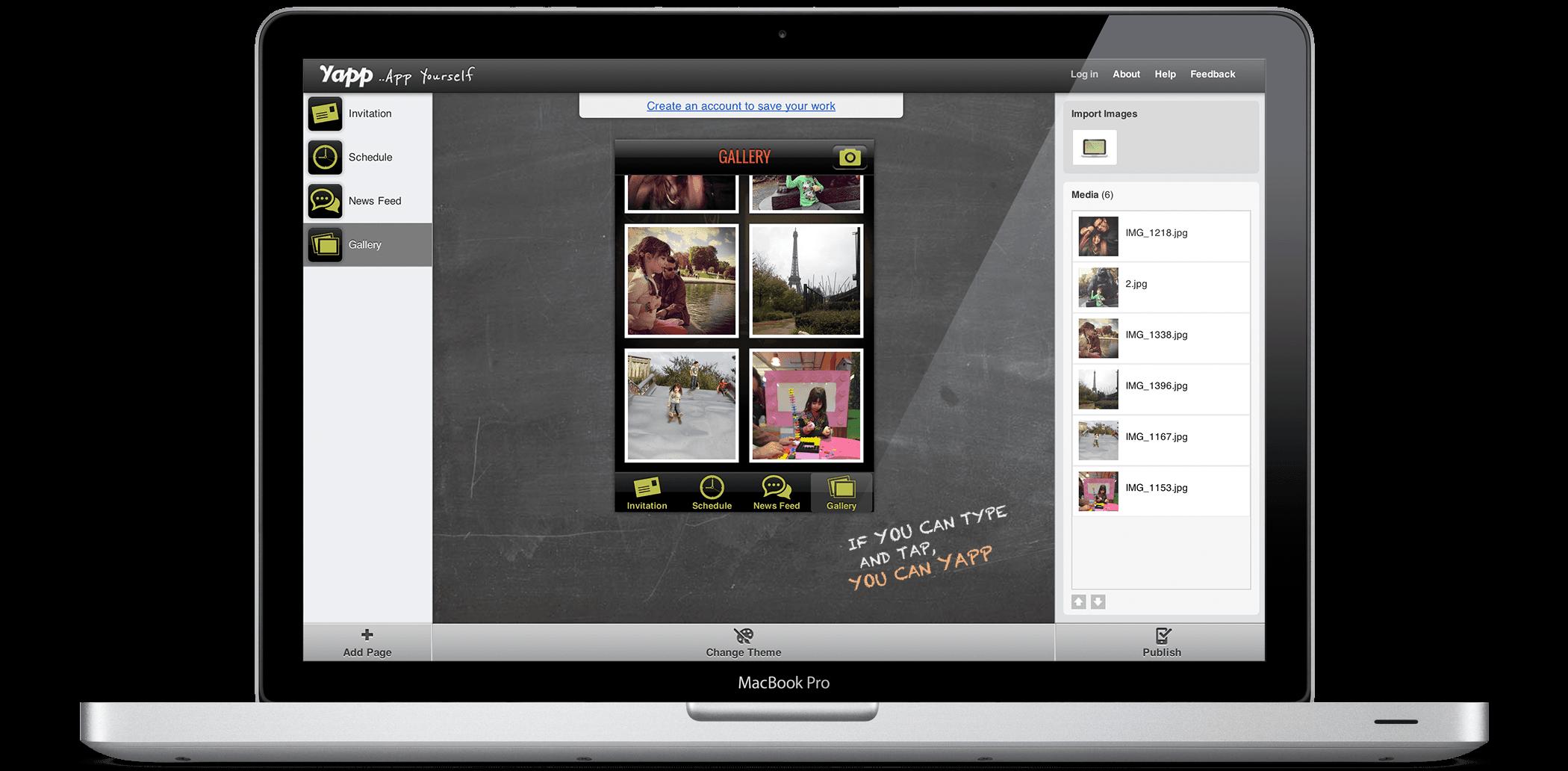App Editor \ Content Editor