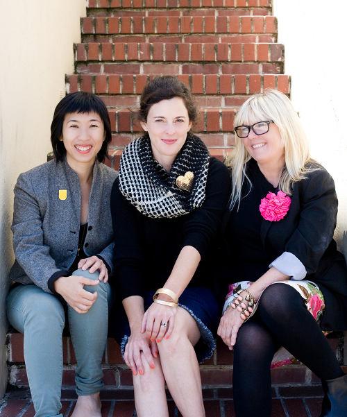 Rena, Suzanne and Victoria