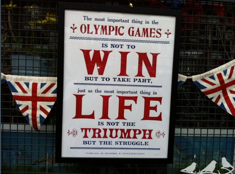 Follow our Olympic Correspondent, ROB MABEE, on Twitter for more images from London.