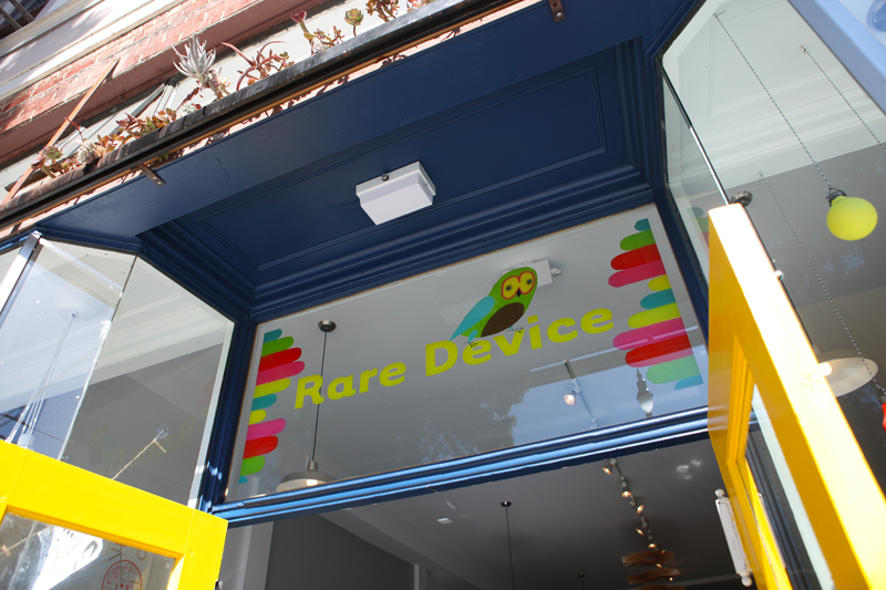 Rare Device is located at 600 Divisadero Street (at Hayes Street) in San Francisco.