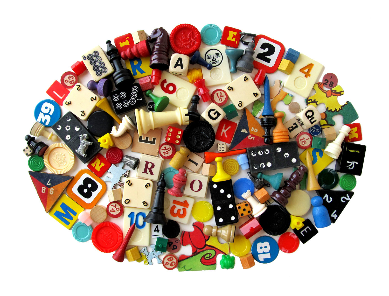 Such a gorgeous photo makes these little game pieces all the more appealing.