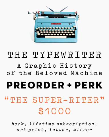"""The Super-Riter""  level includes a life-time subscription to UPPERCASE magazine!"
