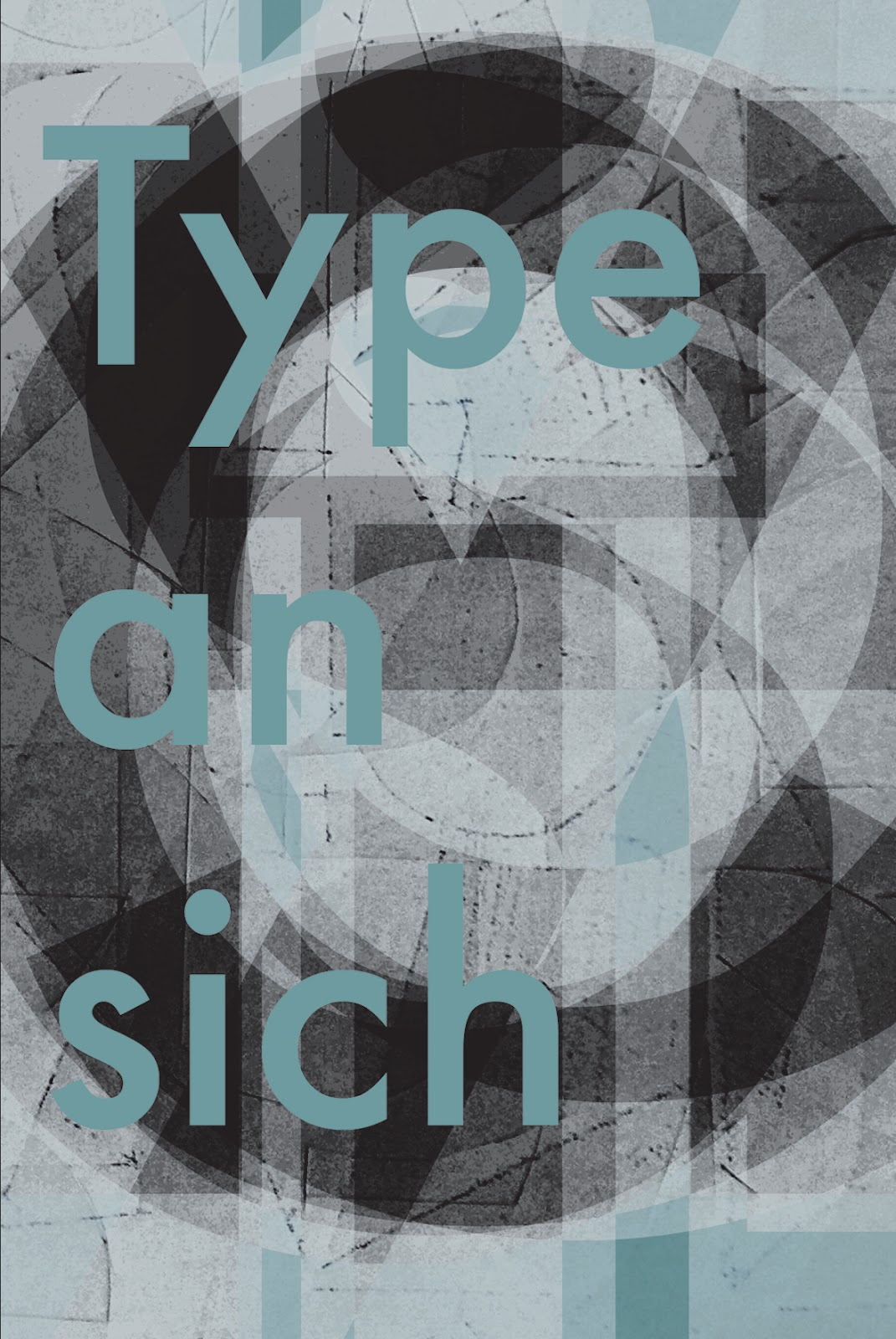 A typographic experiment posted on Wenke Mast's blog.