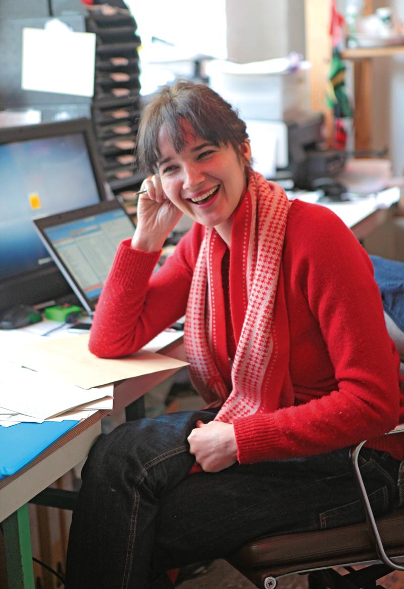 Donna Wilson, April 2012