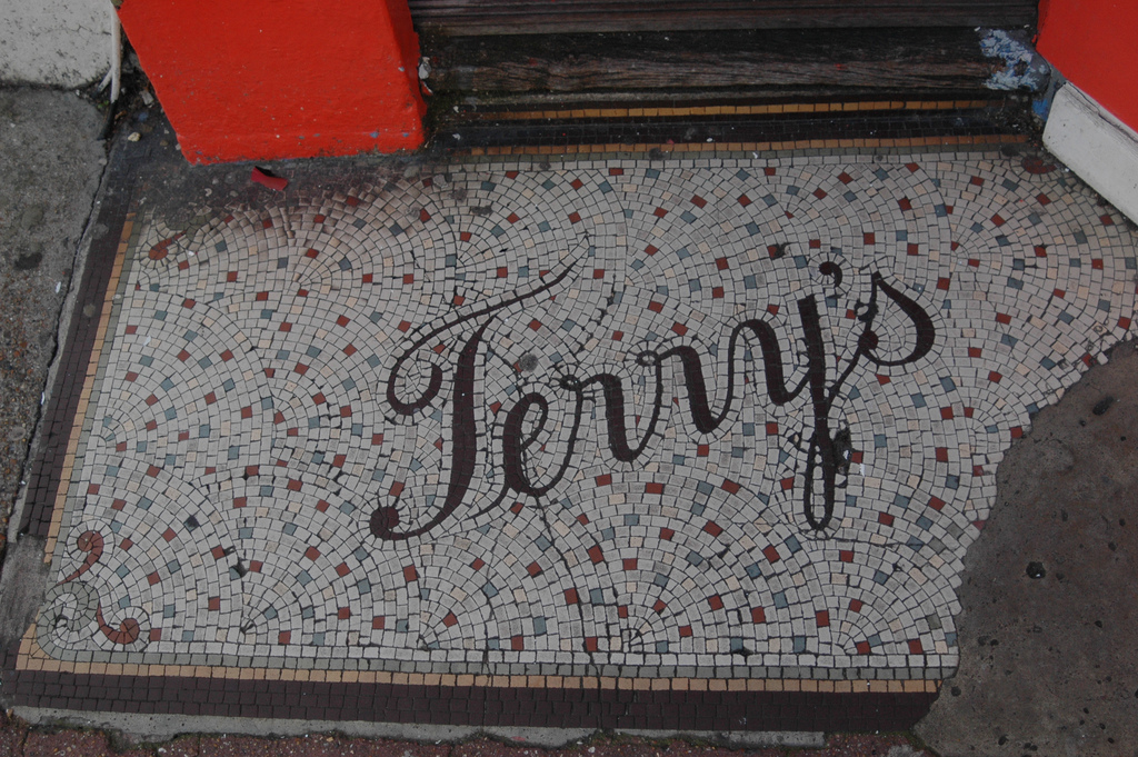 type tuesday: mosaic letters — UPPERCASE