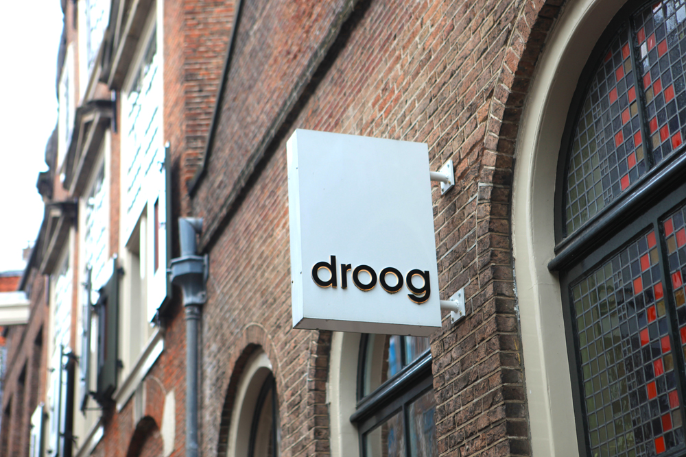 Droog is a world-famous design company focused on home accessories, lighting and furniture. Based in Amsterdam, they also have a hotel (with only one room!) and café.