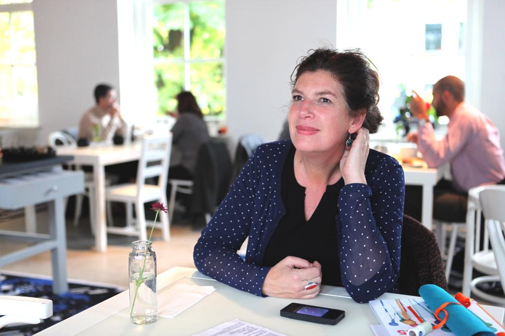 Freelance journalist Caroline Buijs.