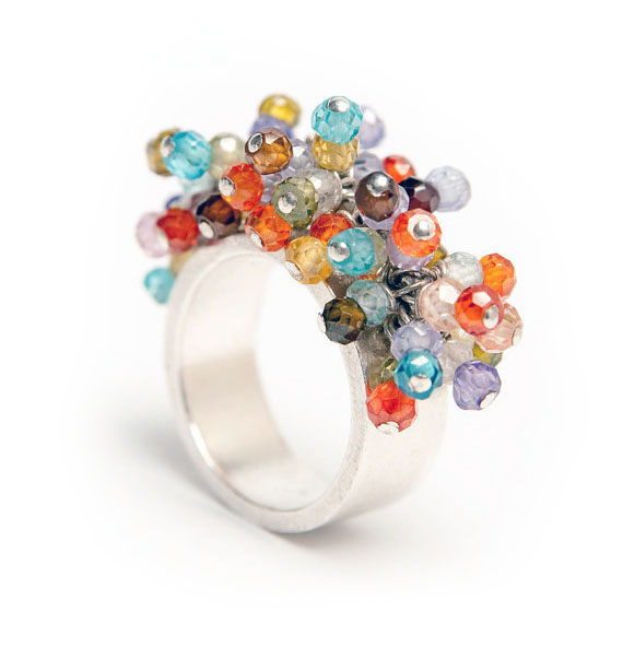 Confetti ring by Stephanie Putter Jewellery
