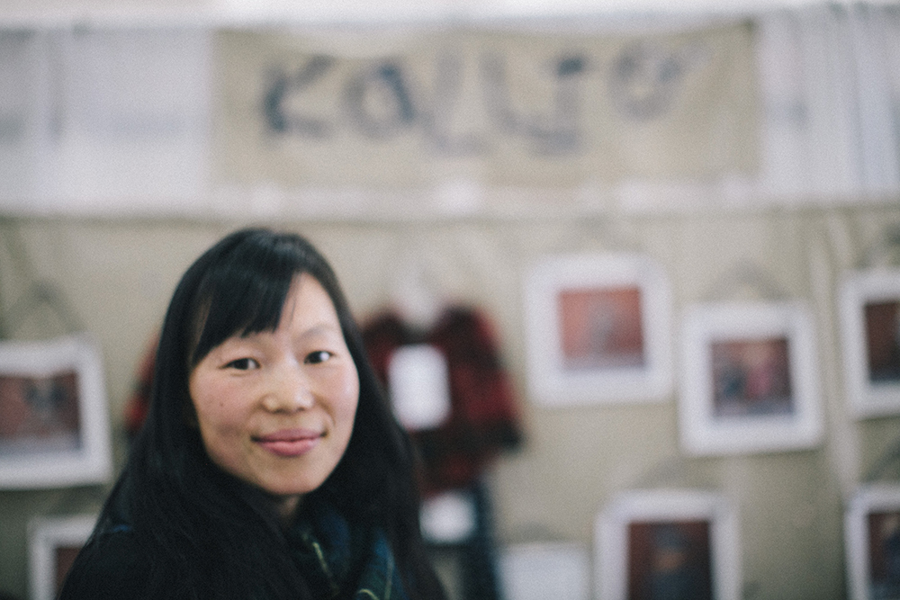 Karina Kallio photographed by Yvonne Rock