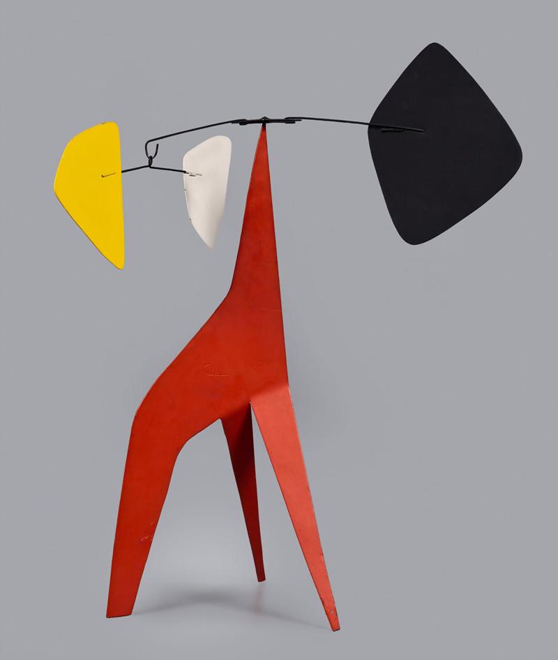 Alexander Calder,Untitled (Long Legged Red), 1966