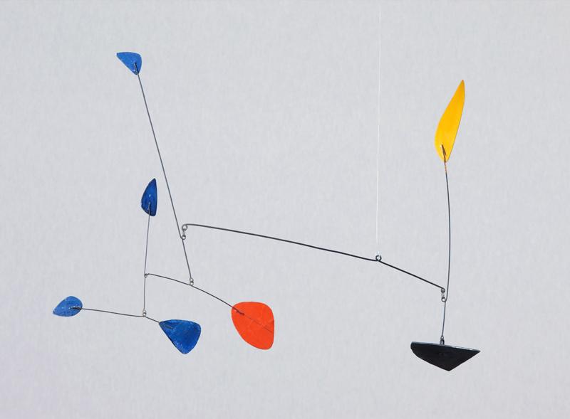 Alexander Calder, u  ntitled, c. 1960 Painted sheet metal and wire