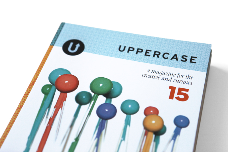 Room6 carries UPPERCASE magazine, too!