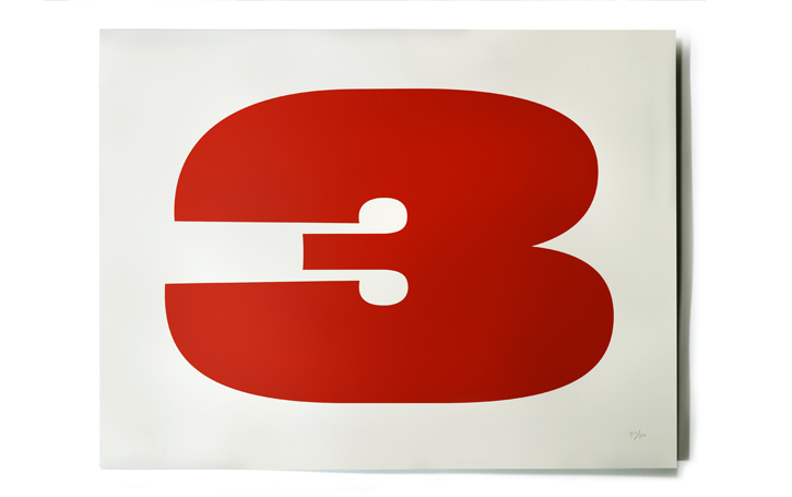 Large serigraph poster available on House Industries' website. (I'm  sentimental  about this number right now.)