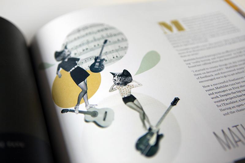 A profile on French designer and illustrator Mathilde Aubier.