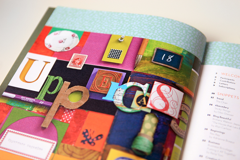 Shelley Davies made this great collage for our contents page.