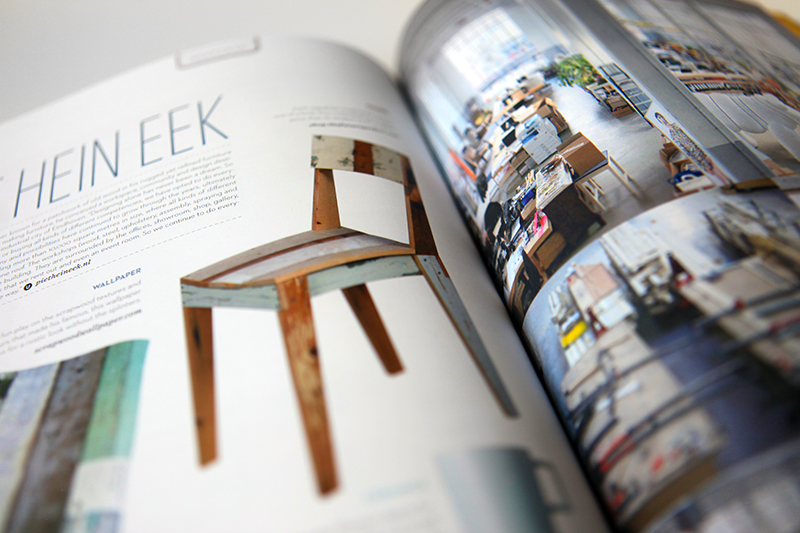 Feature on Dutch designer Piet Hein Eek, inspired by my trip to his studio last year.