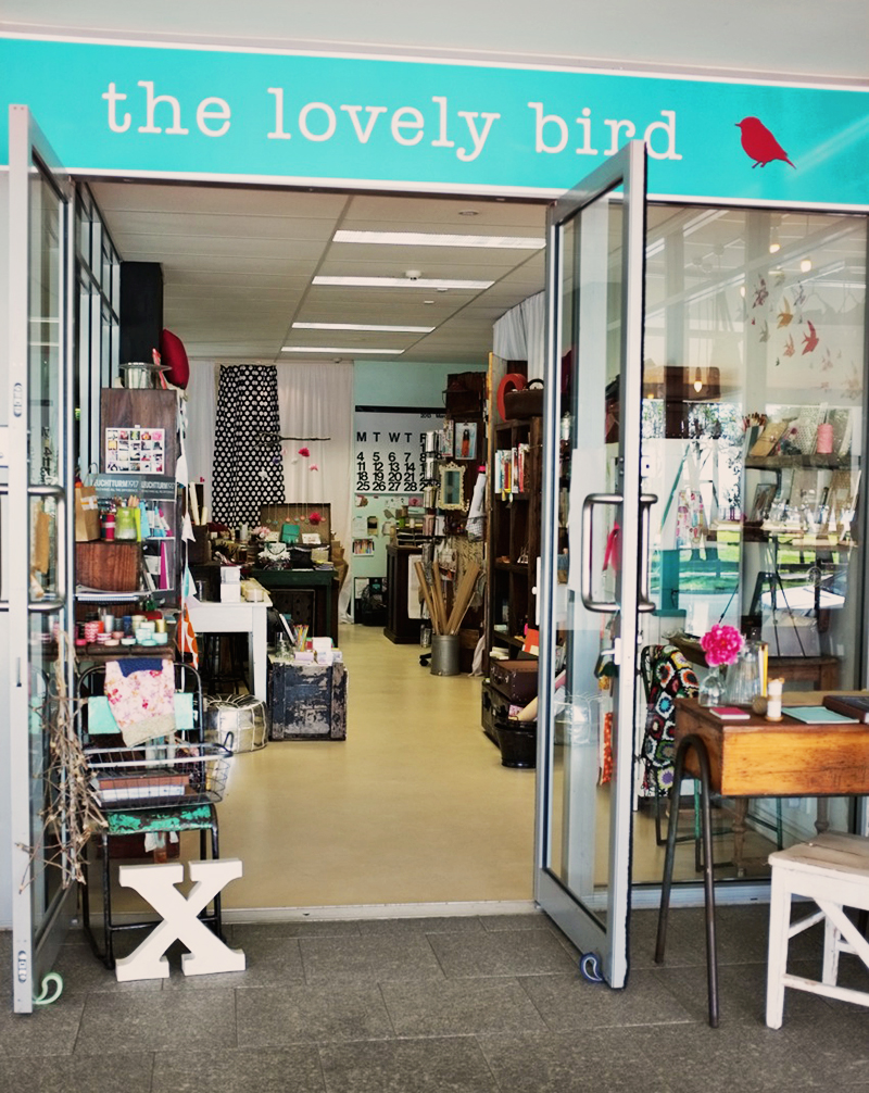 The Lovely Bird's entrance