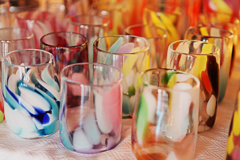 Bee Kingdom Glass