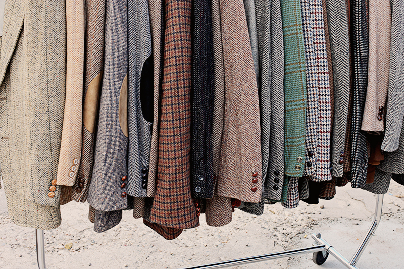 """The overall colour of the flea was """"tweed""""."""